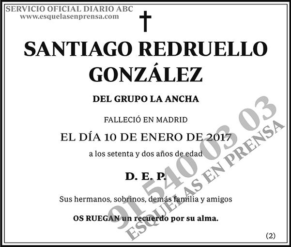 Santiago Redruello González
